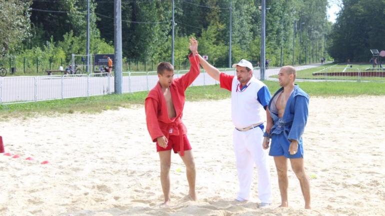 Межрегиональный турнир по пляжному самбо